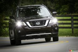 The new 2019 Nissan Pathfinder