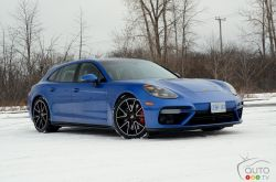 Here is the 2018 Porsche Panamera Turbo Sport Turismo