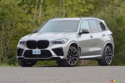 We drive the 2020 BMW X5 M Competition