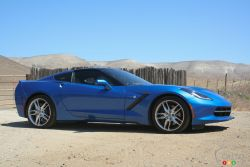 """The final numbers for the 2014 Chevrolet Corvette Stingray are in: The coupe will have a base MSRP of $52,745, while the convertible will be priced from $58,245.  """"The 2014 Corvette Stingray delivers a combination of performance, design and technology that very few manufacturers can match, and none can even come close for under $53,000,"""" said Rob Assimakopoulos, general director of marketing and communications for Chevrolet in Canada."""