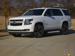 Chevrolet Tahoe, RST Edition or just RST?