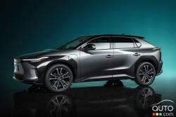 Voici le Toyota BZ4X Concept
