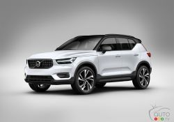 The hip new Volvo XC40 visually stands out from other Volvo crossovers