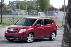 The Chevrolet Orlando is GM's entry in the category, and satisfies the need for maximum seating capacity in a relatively small package.