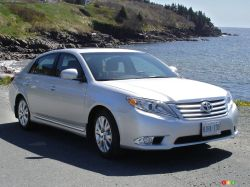 The 2011 Avalon is comes only one way, that is fully loaded with an XLS trim badge. The only item that can add to the price is a pearl white paint job.