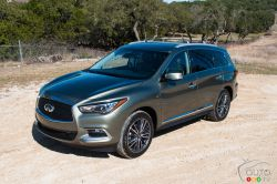 Read Matt's first impression on the 2016 Infiniti QX60 in our article.
