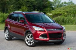 Canada's #1-selling SUV,1 Ford Escape gives its drivers turbocharged direct-injection EcoBoost engine technology that helps it deliver a rating of 7.4L/100 km (38 mpg) hwy And fuel efficiency is only the beginning.