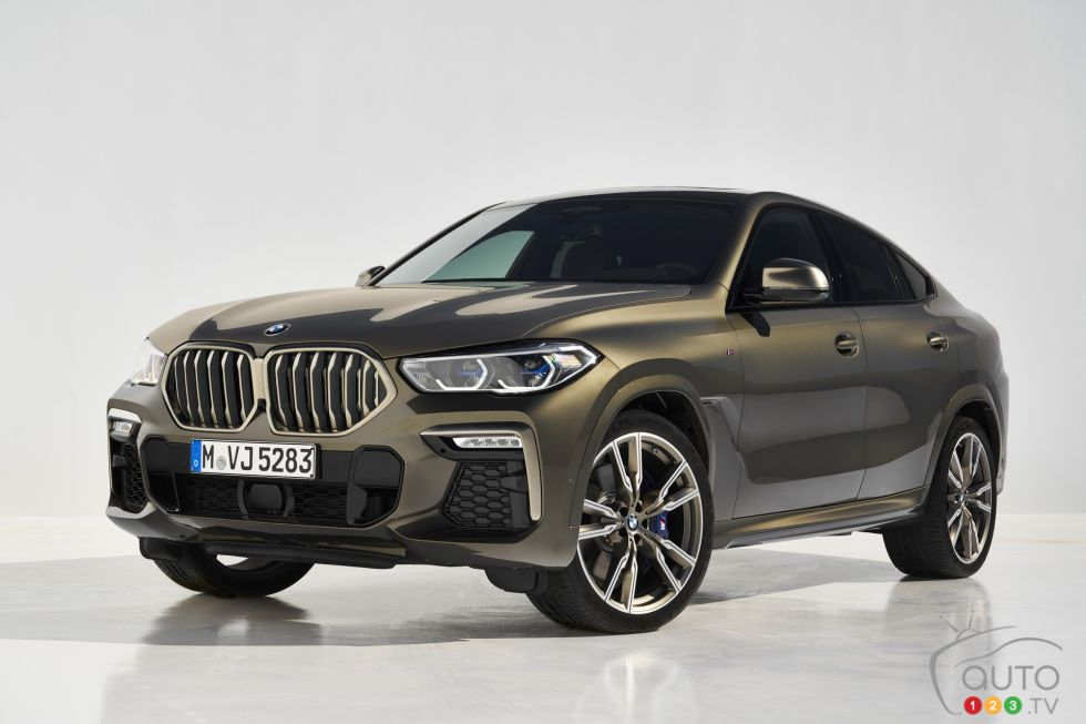 Introducing the 2020 BMW X6