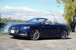 2018 Audi S5 Cabriolet 2018: both soft and sporty