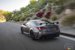 We test-drive the 2020 Lexus RC-F