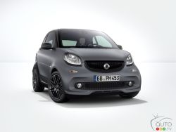 The Smart Fortwo is now offered with a Brabus sport package. Check it out.