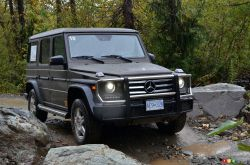 The G 550 4MATIC is an incredible war machine