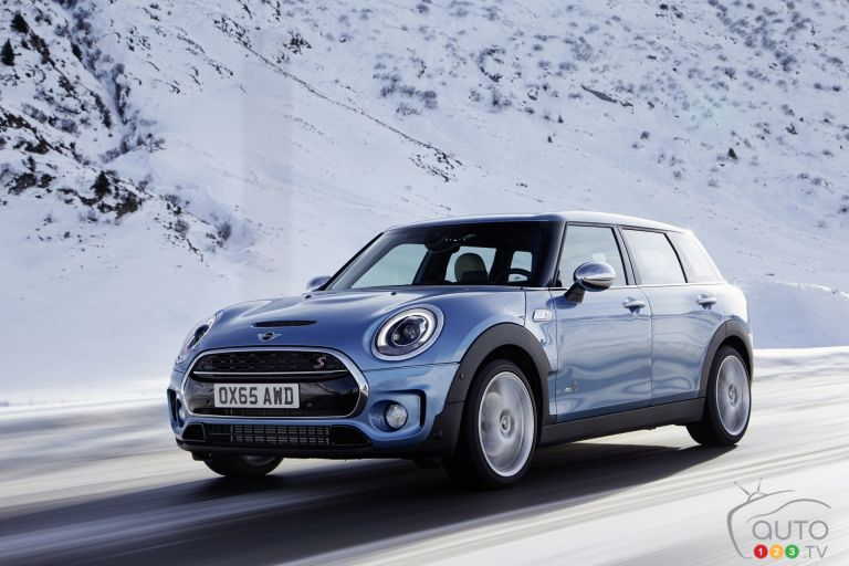 Photos de la MINI Clubman ALL4 2016