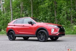 We drive the 2020 Mitsubishi Eclipse Cross
