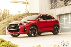 Introducing the 2022 Infiniti QX55