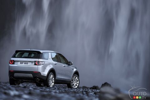 2015 Land Rover Discovery Sport pictures from Iceland