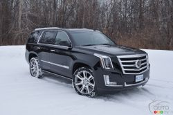 """Cadillac's top-of-the-line SUV doesn't sell in any huge numbers in Canada, roughly 1000 or so a year. However, it is a product that makes a rather important statement for the company. Often seen with Hollywood stars behind the wheel, it is the epitome of luxury in the American SUV world. Yet it's not all about the """"L"""" word. For those with larger families and/or with boats/trailers to haul, this is a classy workhorse of the finest order."""