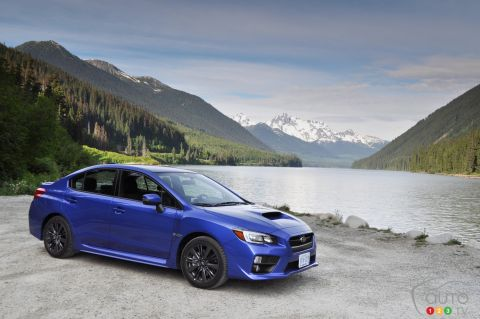 Photos de la Subaru WRX 2016