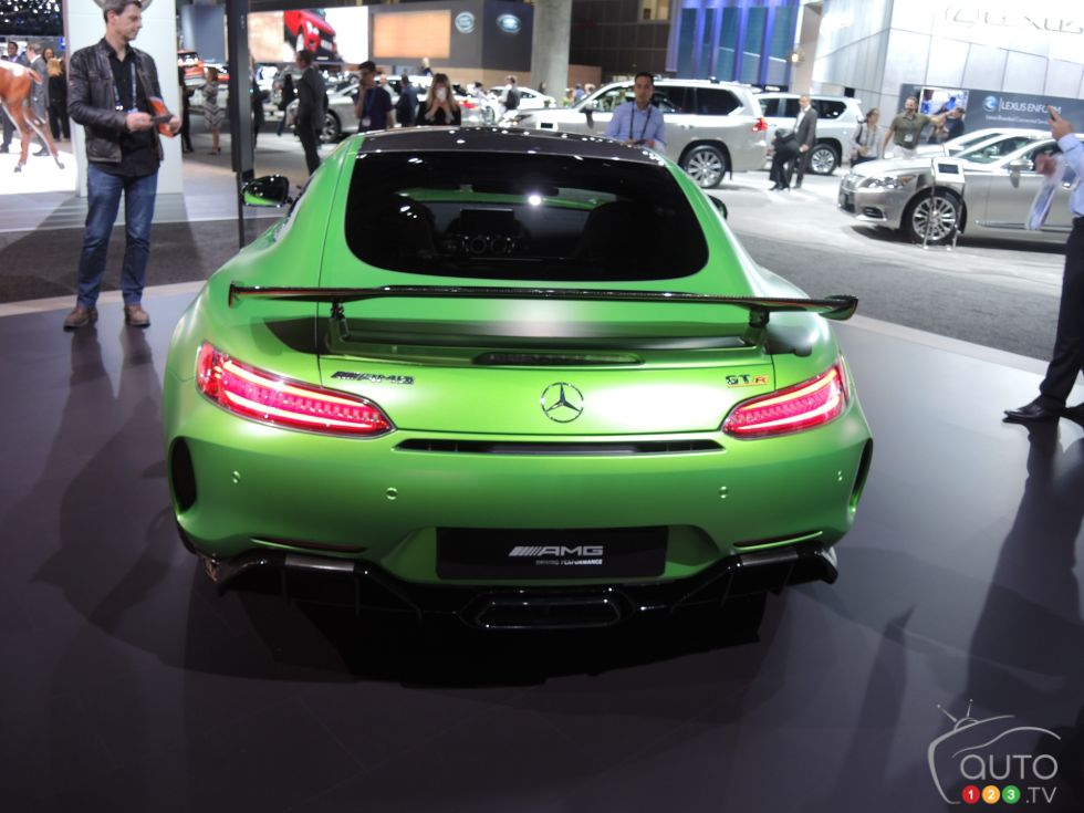 Discover some 2017 models !: 2017 Mercredes-Benz AMG GT rear view