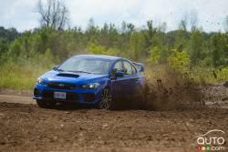 Nous conduisons la Subaru WRX / STi 2021