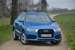 "While we're still getting acquainted with the 2015 Audi Q3, changes are in store for the 2016 model year in what can be described as a mid-cycle refresh. Look for the Q3 2.0 to hit the streets next fall. In other words, Audi is making the odd gamble to sell the ""old"" Q3 for a year until the mildly revised model is ready. Granted, the company doesn't risk much seeing how strong the demand for this small crossover already is in North America and around the world."