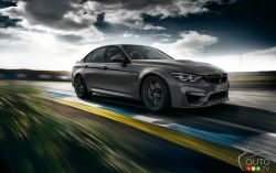 The new BMW M3 CS, a special edition with an even sportier edge