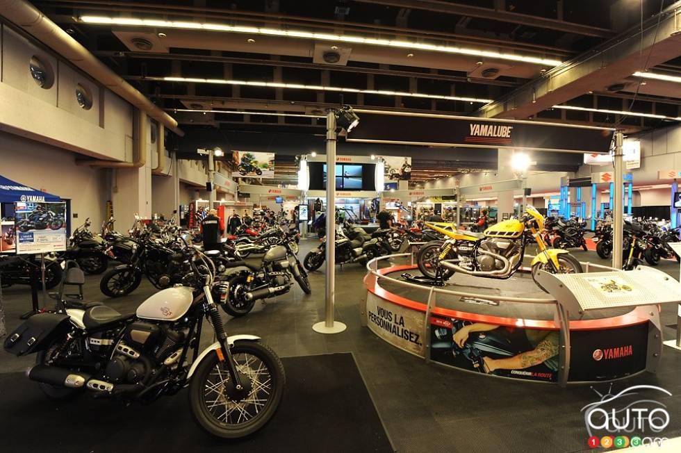 Photos du salon de la moto de montr al 2014 sur for Salon du canada