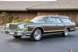 This 1978 Ford Country Squire sold at auction