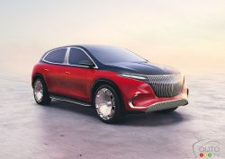 Introducing the Mercedes-Maybach EQS Concept
