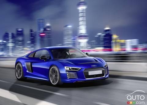 2017 Audi R8 e-tron pictures