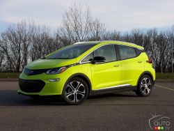 The new 2019 Chevrolet Bolt VE