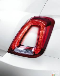 2016 Fiat 500 tail light