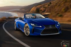 Introducing the 2021 Lexus LC 500 convertible