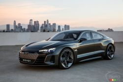 Introducing the Audi e-tron GT Concept