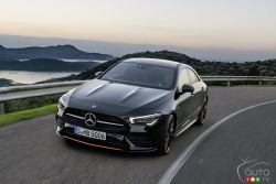 Introducing the new 2020 Mercedes-Benz CLA 250 Coupe