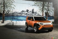 Toyota FT-4X Concept pictures: Toyota FT-4X Concept is like a less extreme, more modern FJ Cruiser
