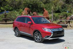 Quiet, luxury and tech were the words of the day at the launch of the refreshed 2016 Mitsubishi Outlander in San Francisco.