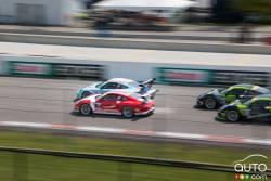 Porsche GT3 Challenge at Canadian tire motorsport park pictures: The Porsche GT3 challenge in Canada.