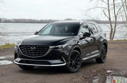 We drive the 2021 Mazda CX-9 Kuro