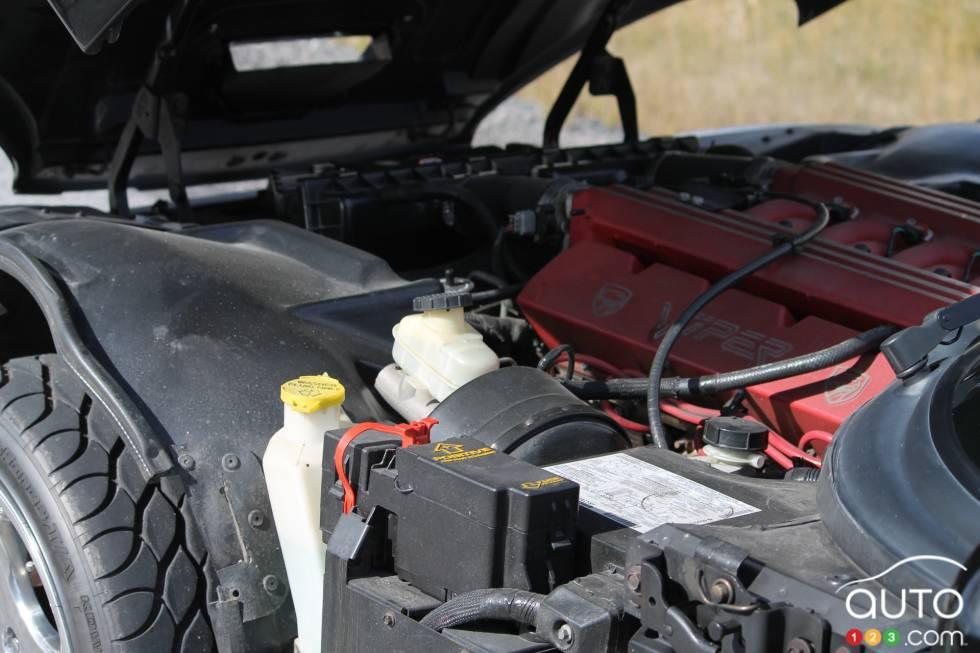 engine détails