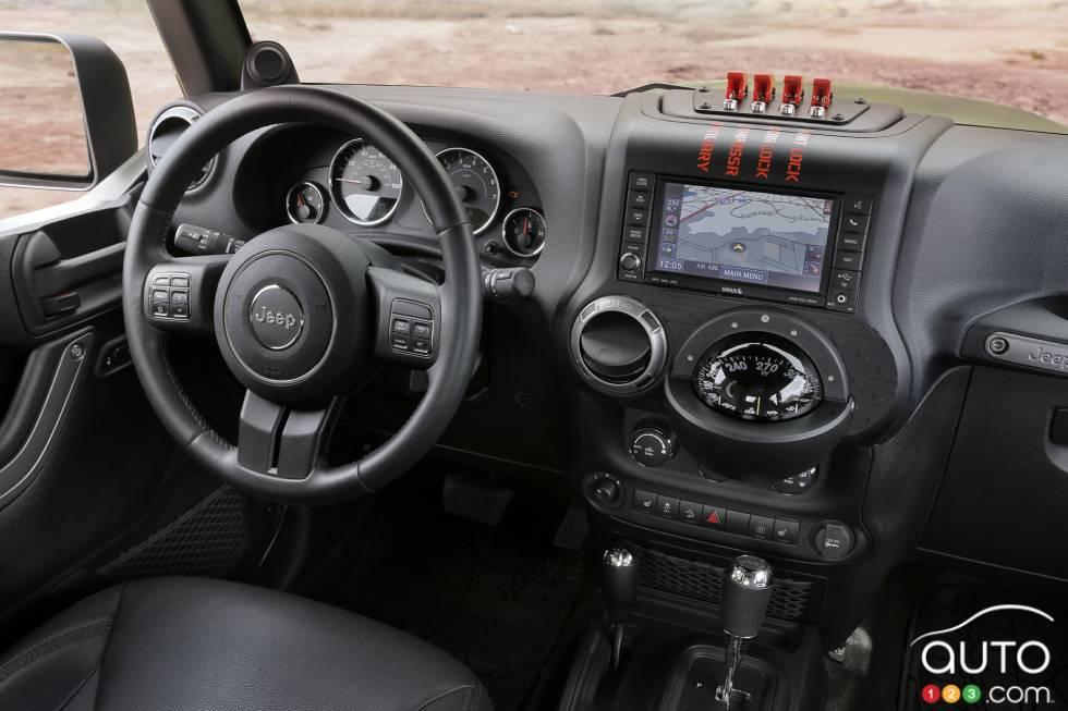 Jeep Crew Chief 715 Concept  cockpit