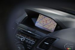 Navigation system screen