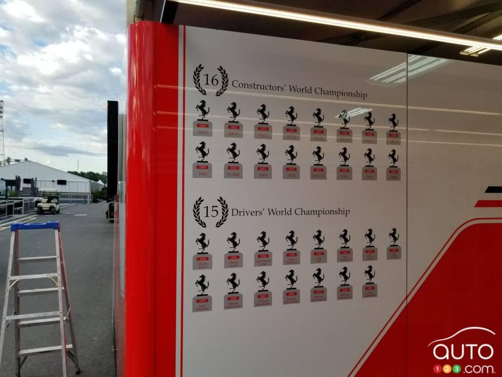 Derrière le rideau au GP Formule 1 de Montréal: Photos exclusives: Auto123.com en coulisse au Grand Prix canadien