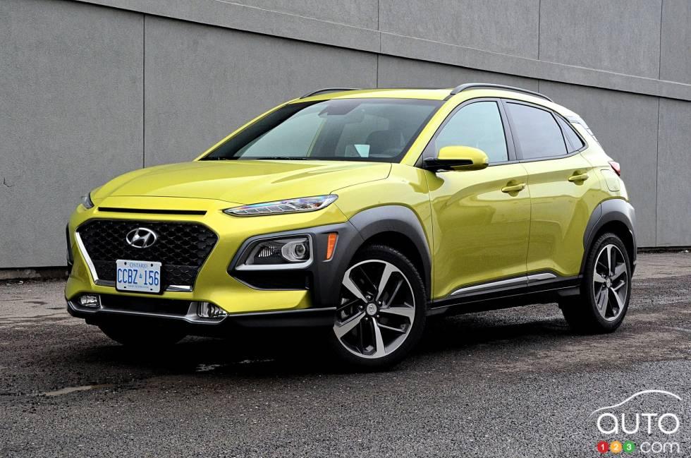 Nous conduisons le Hyundai Kona 1.6T 2019
