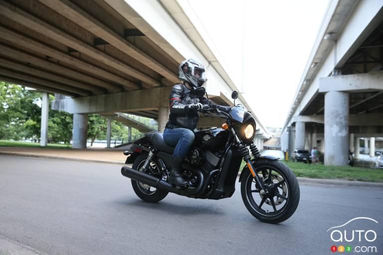 2015 Harley Davidson Street 750 pictures