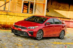 Photos de la Kia Forte 2019