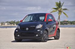 The 2017 smart fortwo electric drive is here !