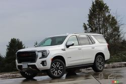 We drive the 2021 GMC Yukon AT4