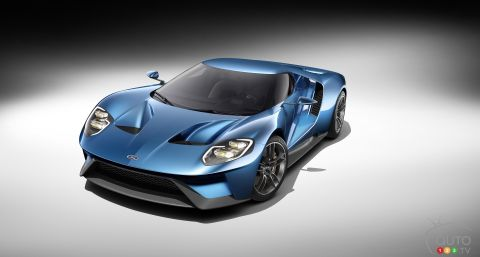 2017 Ford GT Pictures