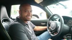 2016 Dodge Viper at the wheel